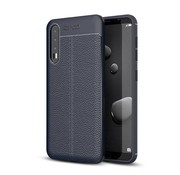 GSMWise Huawei P20 Pro - Zachte Lychee Flexibele TPU Hoesje Back Case - Blauw