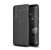 GSMWise Huawei P20 Pro - Zachte Lychee Flexibele TPU Hoesje Back Case - Zwart