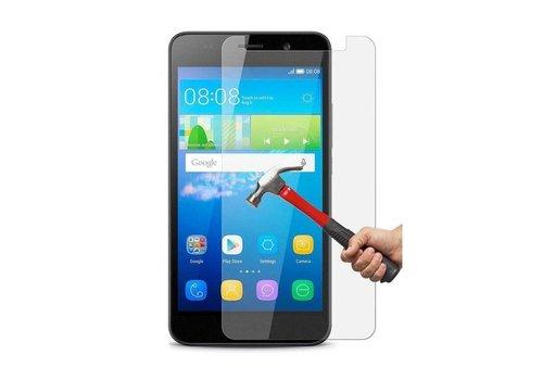 Huawei  Y6 2017 Krasbestendige Glazen Screen Protector
