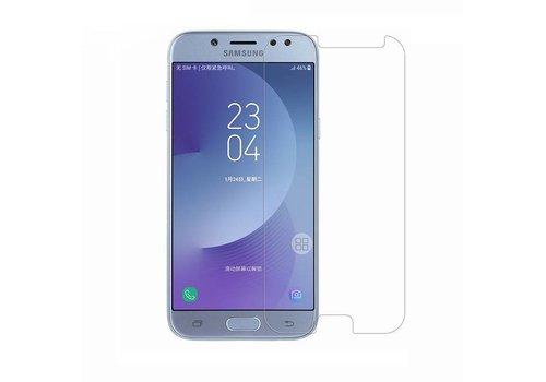 Samsung J7 (2017) Krasbestendige Glazen Screen Protector