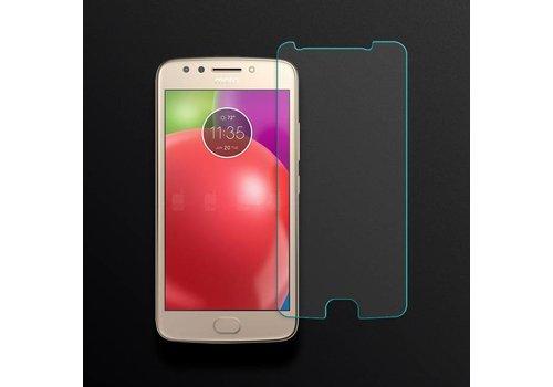 Motorola E4 Krasbestendige Glazen Screen Protector