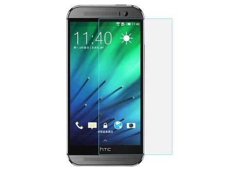 HTC M7 Krasbestendige Glazen Screen Protector