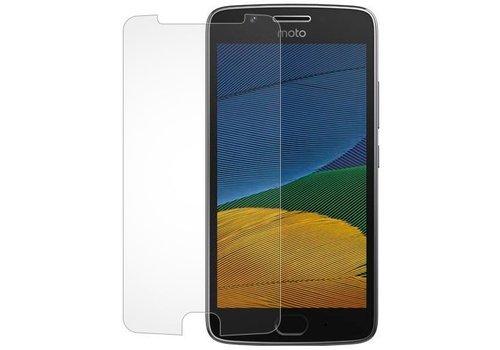 Motorola G5 Krasbestendige Glazen Screen Protector