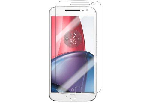 Motorola G4  Krasbestendige Glazen Screen Protector