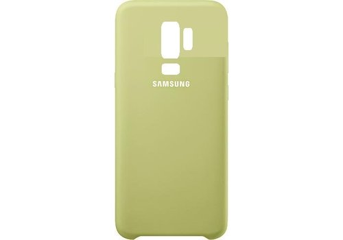 Originele Samsung Galaxy S9 Plus Silicone Cover - Groen