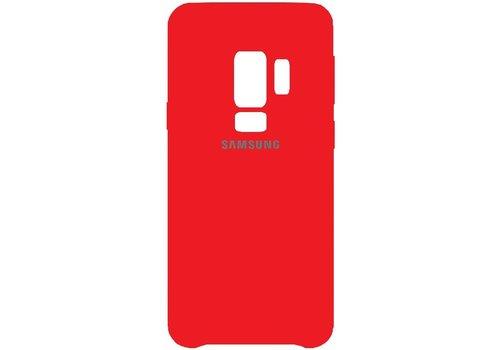 Originele Samsung Galaxy S9 Silicone Cover - Rood