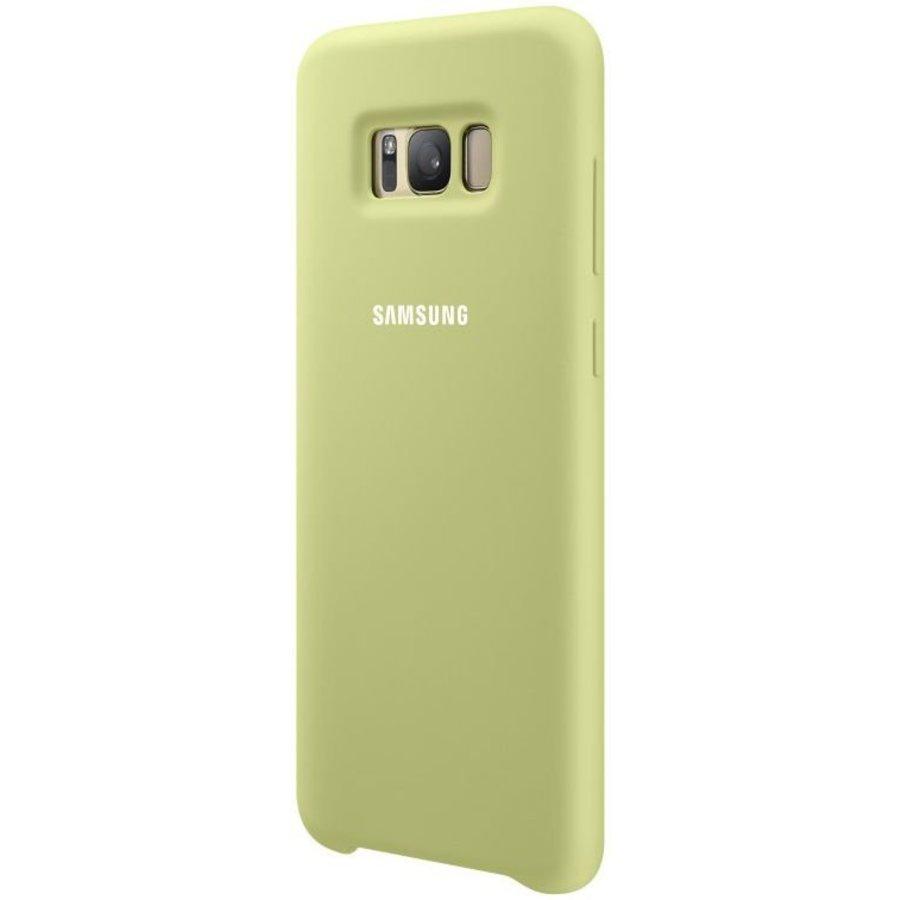 Couverture De Silicone Vert Pour Samsung Galaxy S8 djJkaC45