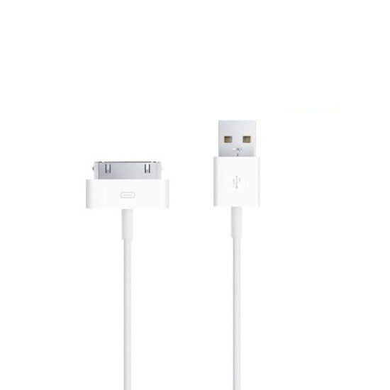 Afbeelding van 2 meter 30-pins USB oplaad data kabel voor Apple iPhone 3GS/4/4S iPad 1/2/3 en iPod - wit