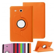 GSMWise Samsung Galaxy Tab E 9.6 T560 / T561 Swivel Case 360 graden Draaibare Beschermhoes Tablethoes Cover Hoes met Multi-stand - Kleur Oranje