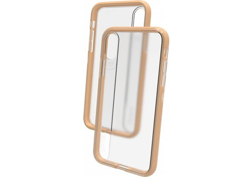 GEAR4 - iPhone X/Xs Hoesje - Windsor Harde Back Case Goud