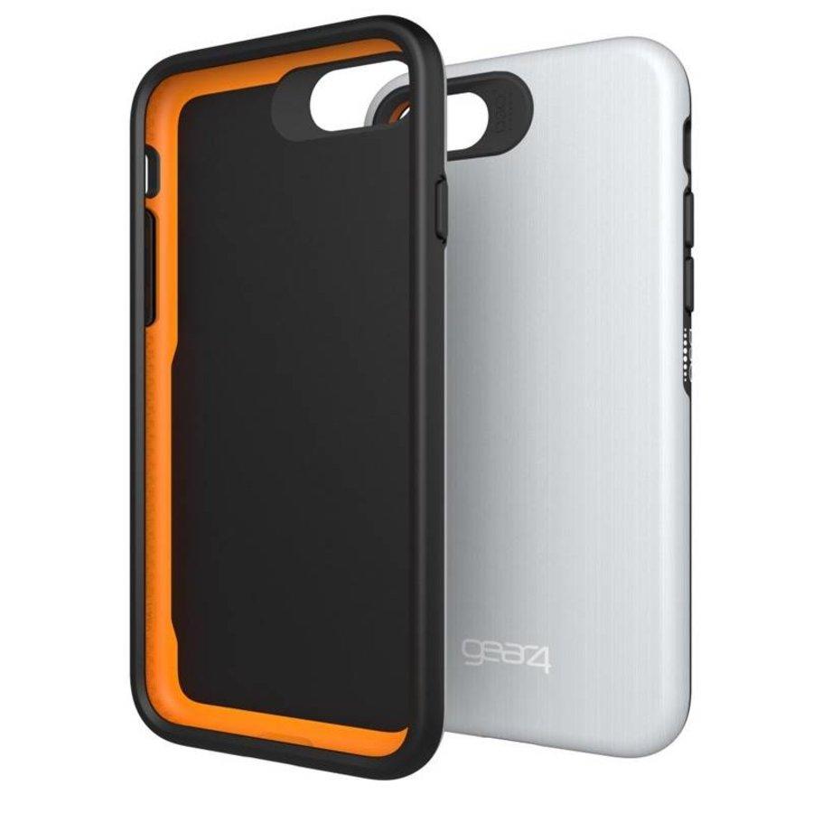 GEAR4 - iPhone 7/8 Hoesje - Trafalgar Backcase Zilver