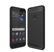 GSMWise Huawei P10 Lite Hoesje - Carbon Fiber Design Back Case - Zwart