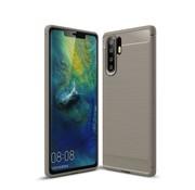 GSMWise Huawei P30 Pro Hoesje - Carbon Fiber Design Back Case - Grijs