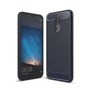 GSMWise Huawei Mate 10 lite Hoesje - Carbon Fiber Design Back Case - Blauw