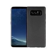 GSMWise Samsung Galaxy S10 Hoesje - Carbon Fiber Design Back Case - Zwart