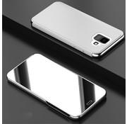 GSMWise Samsung Galaxy A6 (2018) Hoesje - Window View Case - Zilver