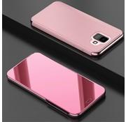 GSMWise Samsung Galaxy A6 (2018) Hoesje - Window View Case - Roze Goud