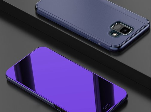 GSMWise Samsung Galaxy A6 (2018) Hoesje - Window View Case - Paars