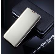 GSMWise Samsung Galaxy S10 Plus Hoesje - Window View Case - Goud