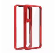 GSMWise Huawei P30 Hoesje - Drop Proof Back Case - Rood