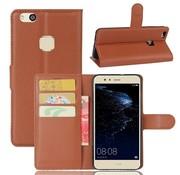 GSMWise Huawei P10 Lite Hoesje - Wallet Case - Bruin