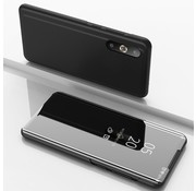 GSMWise Samsung Galaxy A50 Hoesje - Window View Case - Zwart