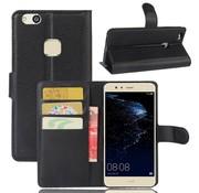 GSMWise Huawei P10 Lite Hoesje - Wallet Case - Zwart