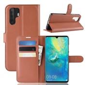 GSMWise Huawei P30 Pro Hoesje - Wallet Case - Bruin