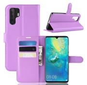 GSMWise Huawei P30 Pro Hoesje - Wallet Case - Paars