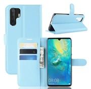 GSMWise Huawei P30 Pro Hoesje - Wallet Case - Blauw