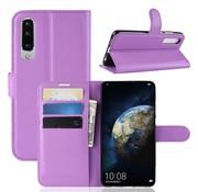 GSMWise Huawei P30 Hoesje - Wallet Case - Paars