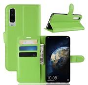 GSMWise Huawei P30 Hoesje - Wallet Case - Groen