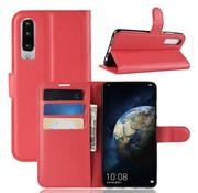 GSMWise Huawei P30 Hoesje - Wallet Case - Rood