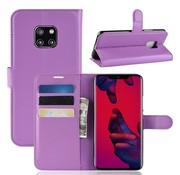 GSMWise Huawei Mate 20 Pro Hoesje - Wallet Case - Paars
