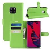 GSMWise Huawei Mate 20 Pro Hoesje - Wallet Case - Groen