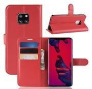GSMWise Huawei Mate 20 Pro Hoesje - Wallet Case - Rood