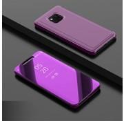 GSMWise Huawei Mate 20 Pro Hoesje - Window View Case - Paars