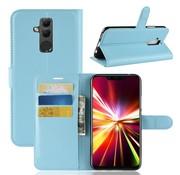 GSMWise Huawei Mate 20 Lite Hoesje - Wallet Case - Blauw