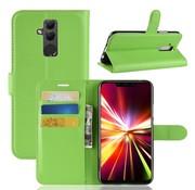 GSMWise Huawei Mate 20 Lite Hoesje - Wallet Case - Groen