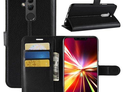 GSMWise Huawei Mate 20 Lite Hoesje - Wallet Case - Zwart