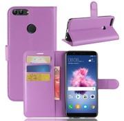 GSMWise Huawei P Smart (2018) Hoesje - Wallet Case - Paars