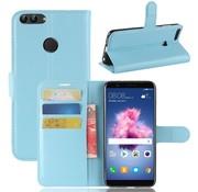 GSMWise Huawei P Smart (2018) Hoesje - Wallet Case - Blauw