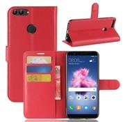 GSMWise Huawei P Smart (2018) Hoesje - Wallet Case - Rood