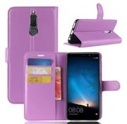 GSMWise Huawei Mate 10 Lite Hoesje - Wallet Case - Paars