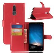 GSMWise Huawei Mate 10 Lite Hoesje - Wallet Case - Rood