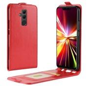 GSMWise Huawei Mate 20 Lite Hoesje - Flip Case - Rood