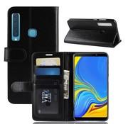 GSMWise Samsung Galaxy A9 (2018) Hoesje - PU Lederen Wallet Case - Zwart