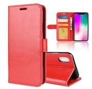 GSMWise Apple iPhone XR Hoesje - PU Lederen Wallet Case - Rood