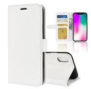 GSMWise Apple iPhone XR Hoesje - PU Lederen Wallet Case - Wit