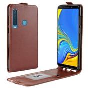 GSMWise Samsung Galaxy A9 (2018) Hoesje - Flip Case - Bruin
